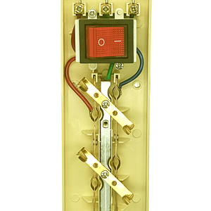 Image 5 - 250V 16A poder de la UE de múltiples, 2, 3, 4, 5, 6 agujero forma tomacorrientes de CA enchufe extensor hembra 4,8mm 2 Pin red de cable filtro para casa