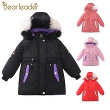 Coats Jackets Clothing Outerwear Hoodies Parkas Girls Thick Winter Children Warm 2 Bear