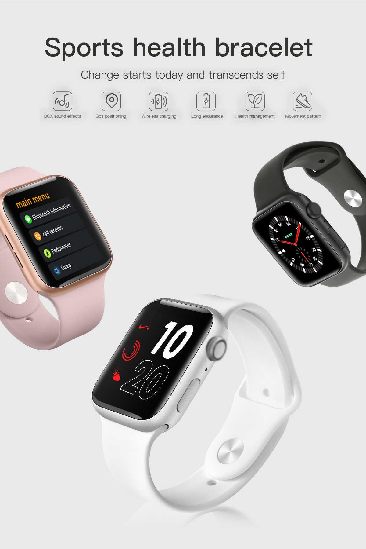 Gps Смарт часы Push сообщение Bluetooth подключение MP3-плеер Браслет для Apple IOS iPhone xiaomi сердечного ритма фитнес-трекер