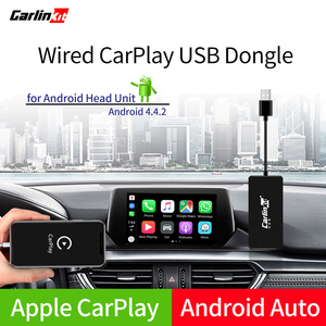 Carlinkit USB CarPlay Dongle/Android Auto with Touch Screen Control for Android car Android Multimedia Player(China)