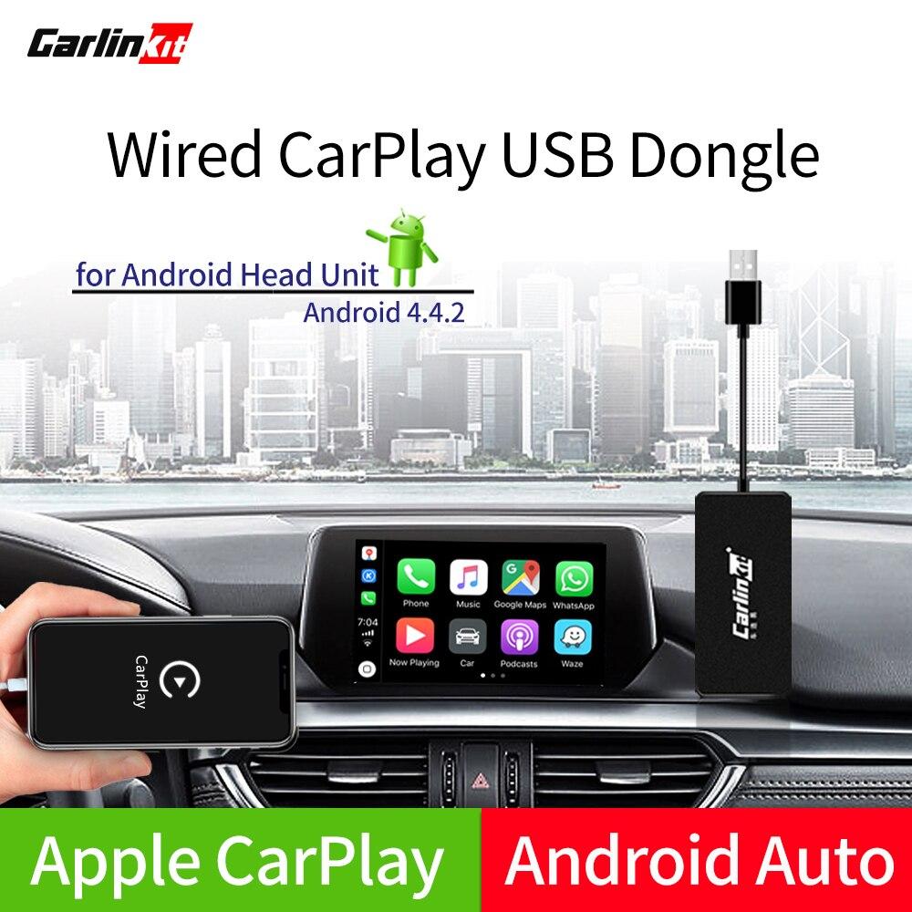 Carlinkit USB CarPlay ключ/Android авто с сенсорным экраном управления для Android автомобиля Android мультимедиа плеер title=