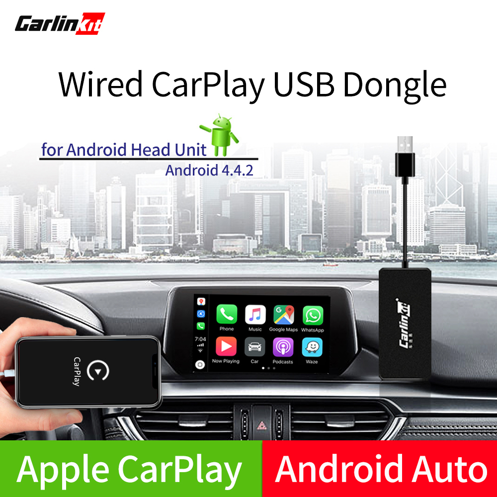 Carlinkit USB CarPlay Dongle/Android Auto With Touch Screen Control For Android Car Android Multimedia Player