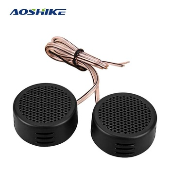 AOSHIKE 2PCS 4Ohm 40W Mini Audio Potable Music Car Speakers Buzzer Tweeter Treble Speakers DIY For Home Theater Sound System image