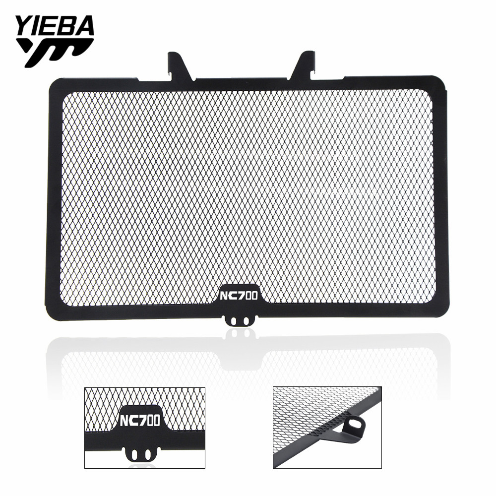 Motorcycle Accessories Radiator Grille Guard Cover Moto Steel Grid Protection For <font><b>Honda</b></font> NC700S <font><b>NC</b></font> <font><b>700X</b></font> 2012 2013 2014 With logo image