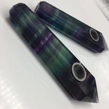Tuyaux à fumer en cristal et pierres naturelles