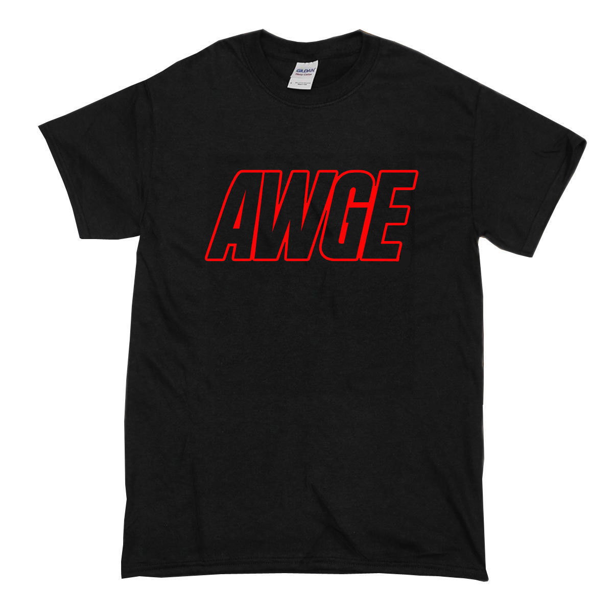 Hot Item Awge Or Nothing Size Usa T Shirt T-Shirt Male Female Personalized Round Neck Men's Tshirt Clothing Letter Tops Tee image