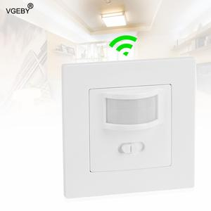 Infrared PIR Motion Sensor Light Switch Recessed Wall Lamp On/Off and PIR Switch Light Bulb Switch Assortment Wholesale
