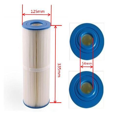 Unicel C-4950 Cartridge Filter And Spa Filter Pleatco PRB501N Filbur PRB50-IN FC-2390 Darlly 40506 L:33.8cm Diameter: 12.5cm