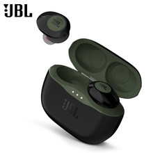 100% Original JBL 120TWS Bluetooth Earphones Wireless Earbuds In-ear With Stereo Microphone Charging Case