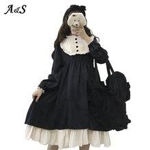 Anbenser в готическом стиле ретро; В «лолита» КР kawaii/платье