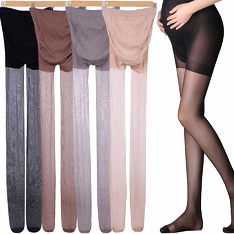 2019 Summer Ultra-thin Clothes For Pregnant Women Summer Pantyhose Full Protection Thin Solid Oversized Bottom Maternity Pants