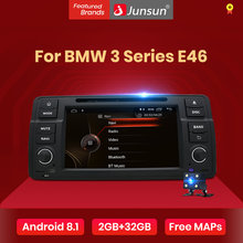 Junsun IPS Mobil Dvd Android 8.1 GPS Multimedia Player untuk BMW 3 Seri E46 M3 Rover RAM 2G Wifi RDS FM Radio Cermin Link(China)