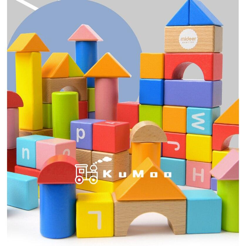 Micerf blocs de construction bébé gros blocs jouets éducatifs grand pour enfants 50 pièces semblant jouer jeu jouets en mousse