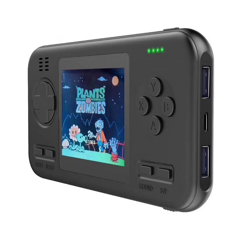 Built-in 416 Games wth 8000mAh Battery power bank Retro Handheld Game Player Console 2.8 Inch Color LCD Game Player Gamepad