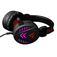 A1 Game Headsets 3.5Mm Wired Headphones Noise Cancel Earphone With Mic Colorful Led Light Volume Control Aux+Usb For Desktop Pc games a1 l ile aux prepositions