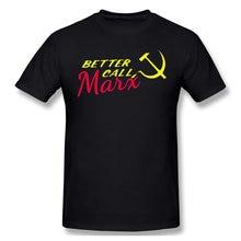 Melhor chamada marx preto t camisa melhor chamar saul james cromwell homme t-shirts puro oversized manga curta
