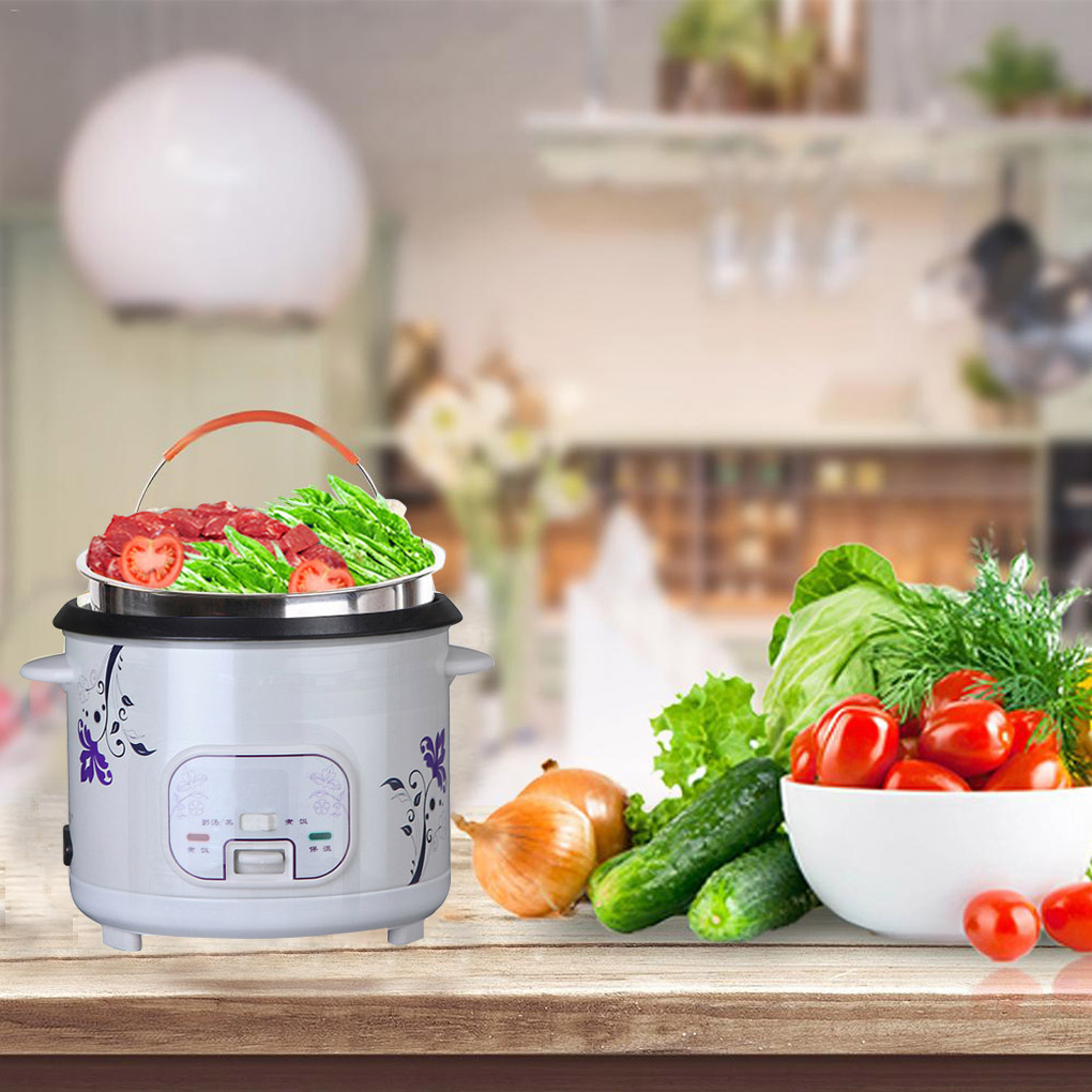 304 Stainless Steel Rice Cooking Steam Basket Pressure Cooker Anti-scald Steamer Multi-Function Fruit Clean Basket 21.8*21.5cm