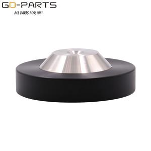 Image 3 - 39mm 49mm*12mm 304 Stainless Steel Graphite Speaker AMP Isolation Spike Pad Preamp DAC LP CD Mat Floor Base HIFI AUDIO DIY 4PCS