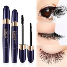 Eye Lash Extension Black Thick Mascara Waterproof 4D Silk Eyelash Fiber Lash Mascara Mascara Fibers 3d mascara
