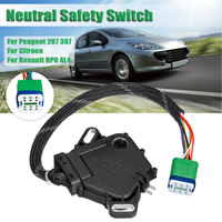 Interruptor de segurança engrenagem transmissão automática 7700100010 CMF 930400 cmf930400 para peugeot 207 307 para citroen renault dpo dp0 al4|Chaves do carro e relé| |  -