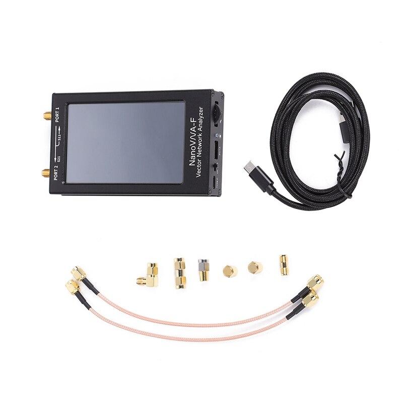 NanoVNA-F 4,3 Zoll Vector Netzwerk Antenne Analyzer Vector Analyzer Mess MF HF VHF 50Khz-1,5 Ghz