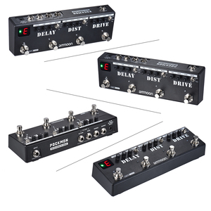 Image 5 - ammoon POCKMON Multi Effects Pedal Strip with Tuner Delay Distortion  guitar accessories guitar pedal pedal guitarra guitar part