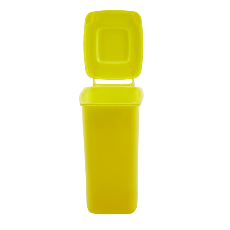 Plastic Pen Container Desktop Receive A Barrel