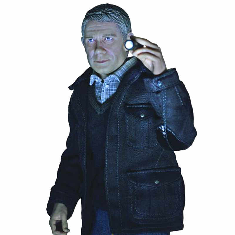 GRANDE Capo 1/6 delle Sherlock Holmes Partner Wahson Collection Action Figure