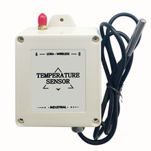 Freeshipping ds18b20 temperature sensor lora wireless temperature logger 433mhz/470mhz  probe temperature transmitter