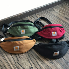 Hartt carro Unisex saco de moda peito fanny cinto saco de lona personalizado sacos de pacotes de banana simplicidade cintura quadril