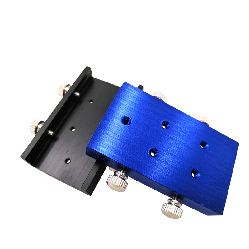 DIY Universal Aluminum Fixture Diameter 33mm And Plotter Drawing Writing Parts Fix Use Blue Black Color With 4 Screws