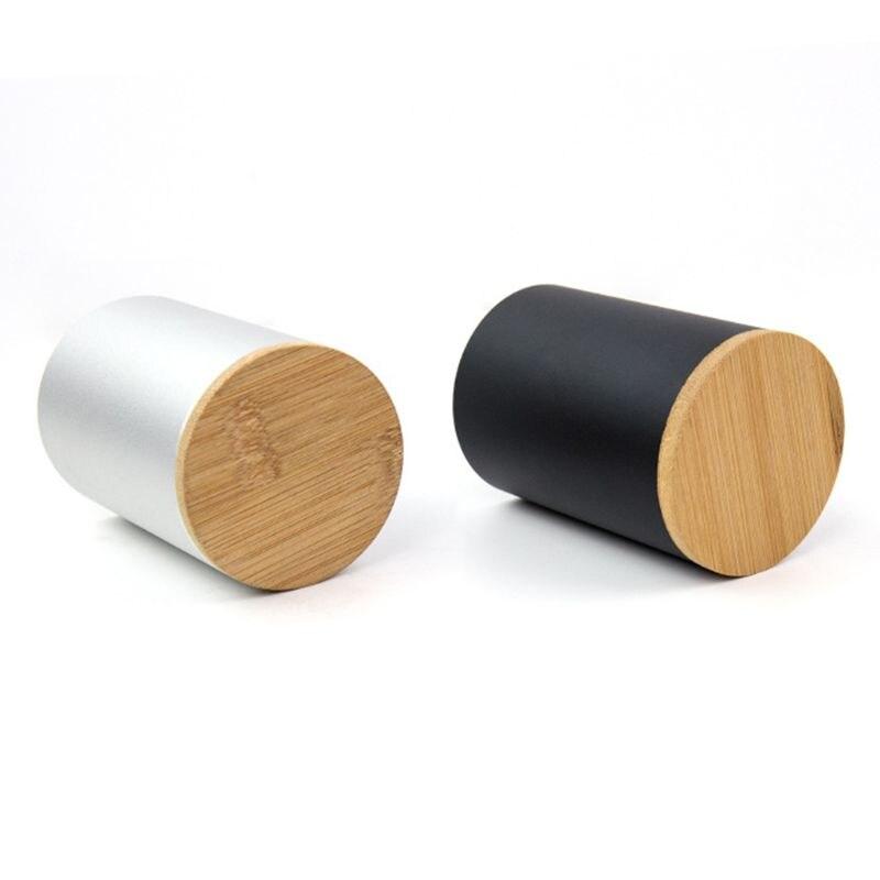 Aluminum Alloy Desk Pen Pencil Storage Organizer Cup Holder Pot Container School AXYF