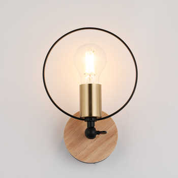 Modern Wall Lights Lamp Nordic Ring wall lighting for living room Live Stream bedroom Light Store sconce Art deco luminaire E27