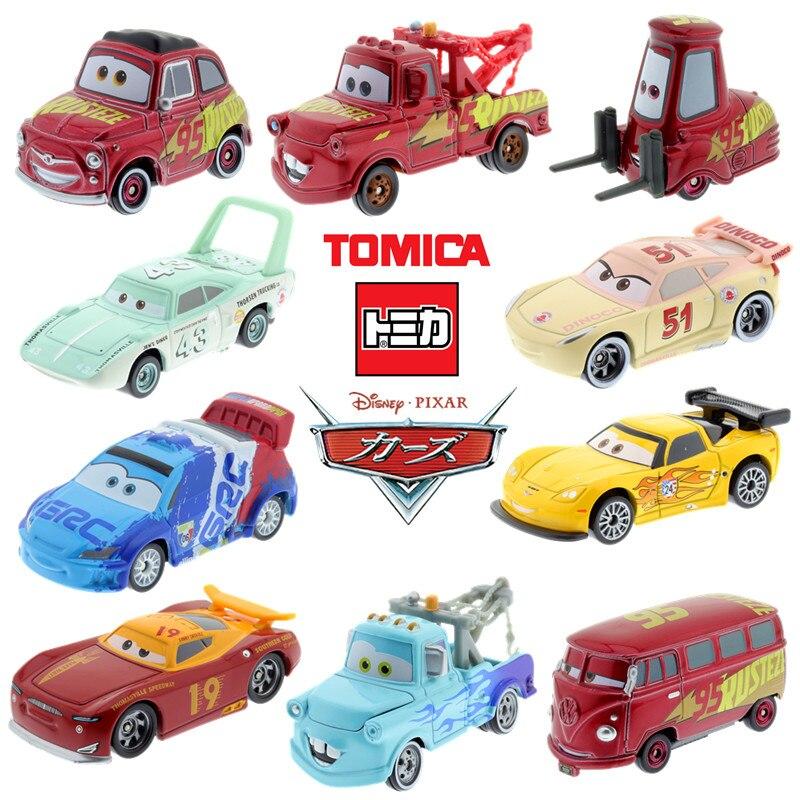 Takara tomy tomica disney pixar carros século modelo kit diecast miniatura brinquedos do bebê engraçado magia crianças boneca quente criança bauble