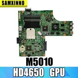 Darmowe CPU M5010 płyty głównej płyta główna dla For DELL inspiron 15R M5010 laptopa motherboardCN-0HNR2M 0HNR2M 09909-1 48.4HH06.011 HD4650