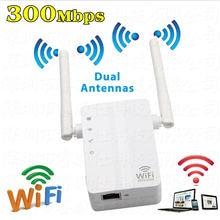 Беспроводной wi fi усилитель 80211n репитер 300 Мбит/с сигнала