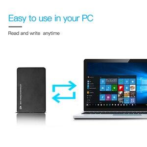 Чехол для жесткого диска 2,5 дюйма SATA к USB 3,0/2,0 адаптер Корпус для жесткого диска чехол для внешнего жесткого диска корпус для Windows 7/8/10/Mac OS