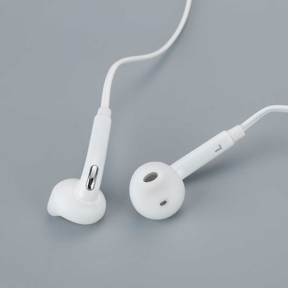 Słuchawki douszne 3.5mm zestaw słuchawkowy Stereo Super Bass słuchawki przewodowe słuchawki douszne z mikrofonem do Samsung Galaxy S6 najnowsze słuchawki akcesoria