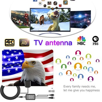 2000 Miles indoor HDTV Antenna Satellite receiver antenna tv 4K DVB-T2 digital With Aerial Amplifier clear free local channel