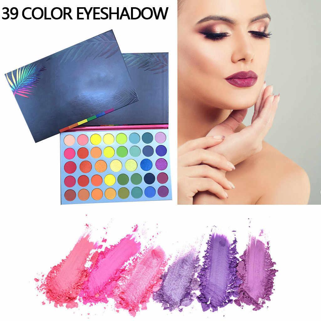 Oogschaduw Pallete Oogschaduw Glitter 39 Kleuren Regenboog Shimmer Matte Oogschaduw Oogschaduw P Alette Pro Cosmetische Make-Up D301122