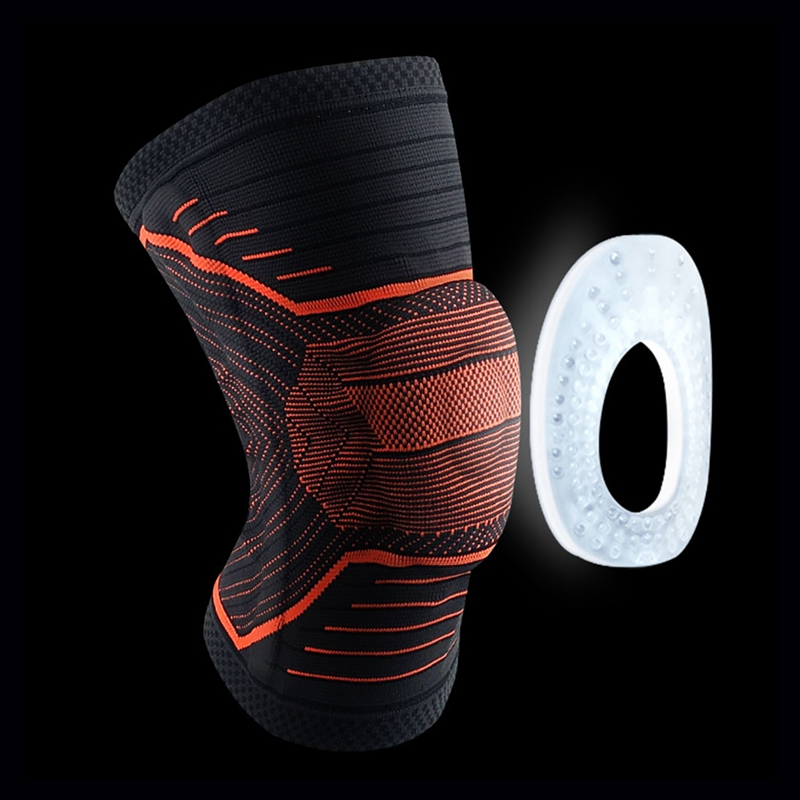 Gym Fitness Knee Pad Sleeve Breathable Leg Protector Sports For Hiking Running Riding Outdoor Gym Fitness Sportswear Accessorie in Elbow Knee Pads from Sports Entertainment