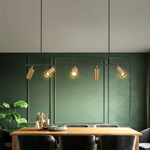 Modern Nordic LED Luster Chandelier LED Bulbs Semiflush Mount Iron AC Contemporary Metal Aluminum 2 Years CUOSHE cheap CN(Origin) Chandeliers Down