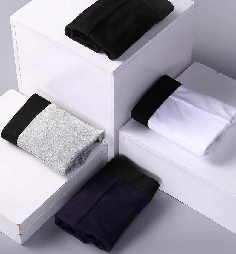 1pcsMen's Underwear Cotton Boxers Man Breathable Panties Solid Shorts Brand Underpants B0007