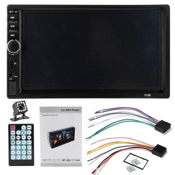 Double 2 Din 7018B Autoradio Car Mp5 Radio Player 7 InchPress Screen Multimedia Car Radio With Bluetooth Mirror Usb Fm Car Radio