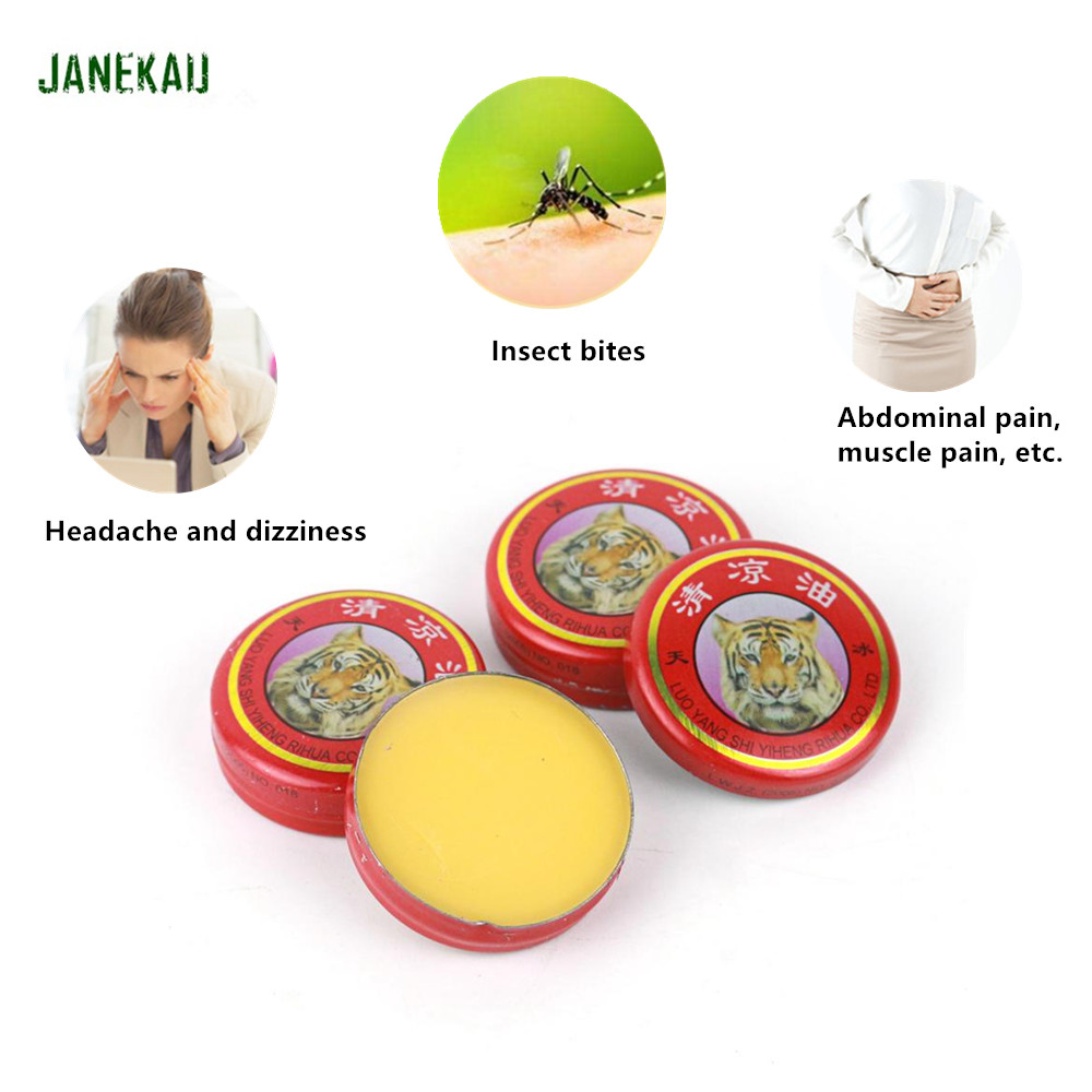 New Arrival Tiger Balm Cool Cream Pain Relief Ointment of Headache Dizziness Muscle Rub Aches Chinese family Common Cream C181|Patches| - AliExpress
