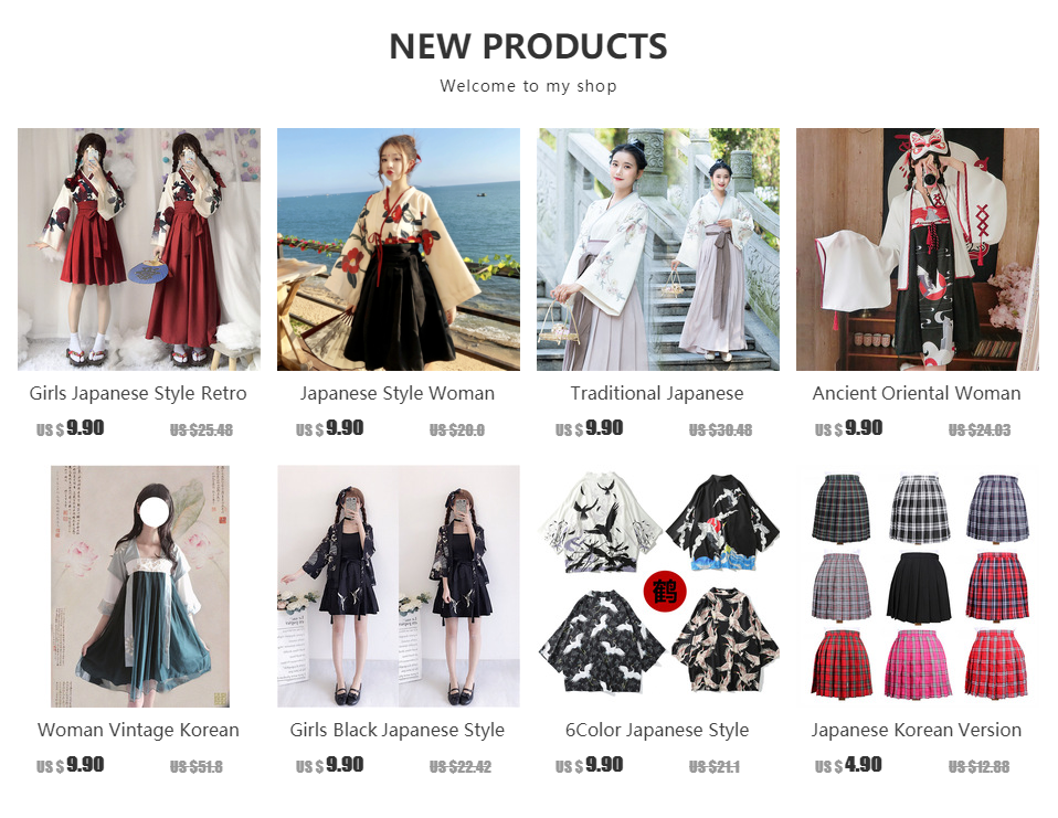 Girls Japanese Style Retro Kimono Floral Long Sleeve Woman Party Dress Summer Fashion Outfits Top Bow Skirt Haori for Female 1