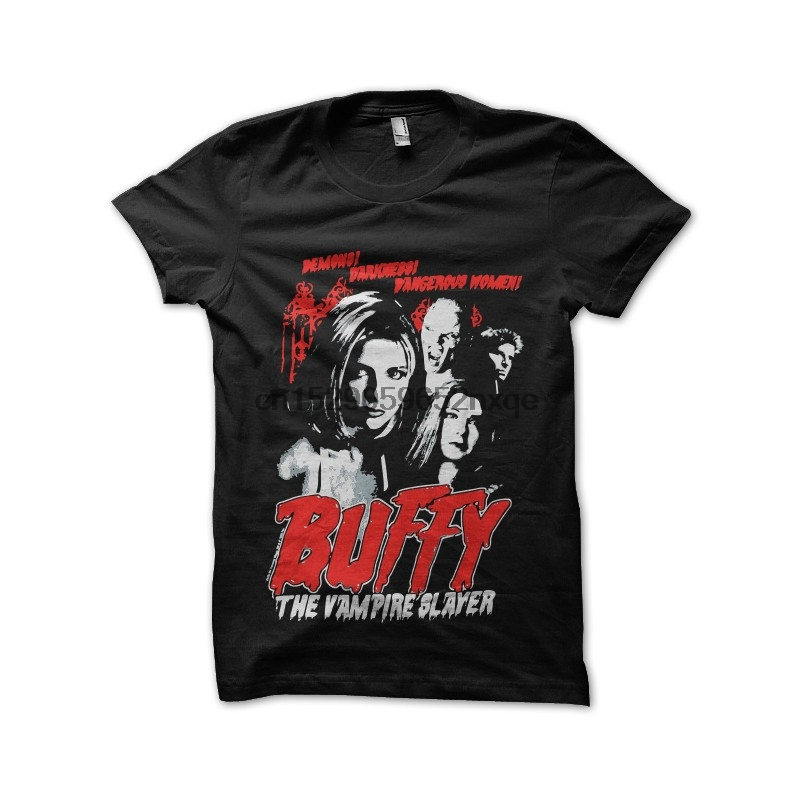 Men T Shirt buffy vampire slayer t-shirt tshirts Women T-Shirt title=