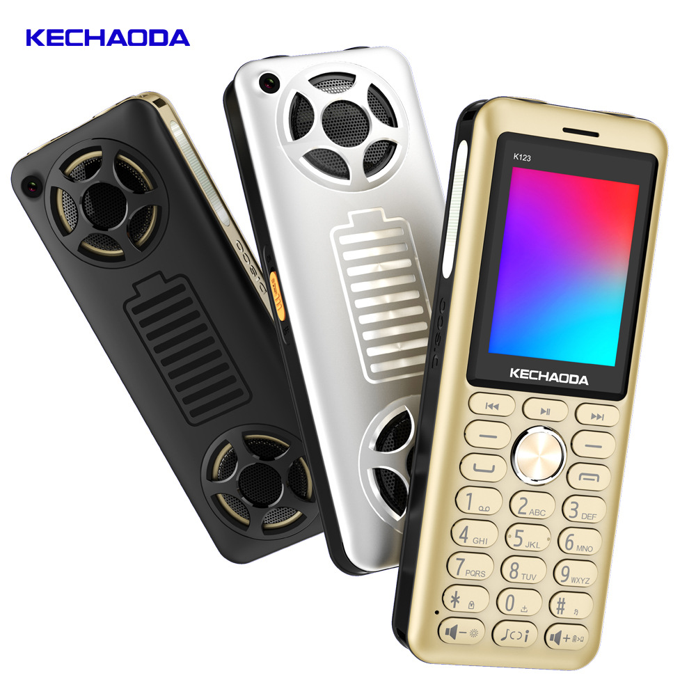 GUOPHONE K1232.84 Frequency Mobile Phone 3 Cards 6000mAh Karaoke Big Battery Charging Function CHEAP PHONE MINI PHONES image