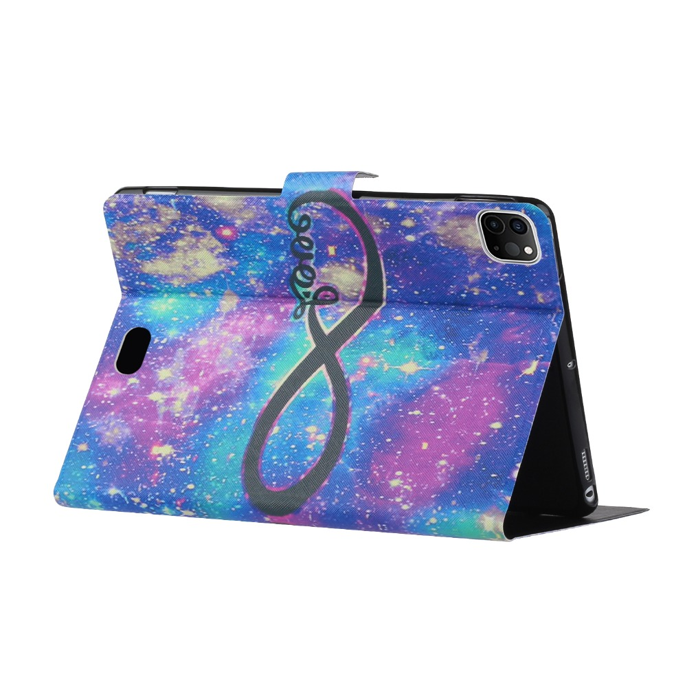 iPad Case Cheap inch for Smart For Painted iPad 2020 Folio Case PU Pro Pro 11 Leather