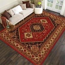 European-Style Classical Rug Arab Persian Folk-Style Flower Carpet Living Room Bedroom Bed Blanket Kitchen Bathroom Floor Mat